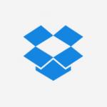 Ícone de uma caixa de papelão aberta na cor azul