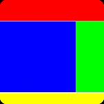 estrutura básica de um site, com topo, lateral, conteúdo e rodapé