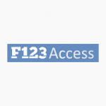 Logotipo do F123 Access